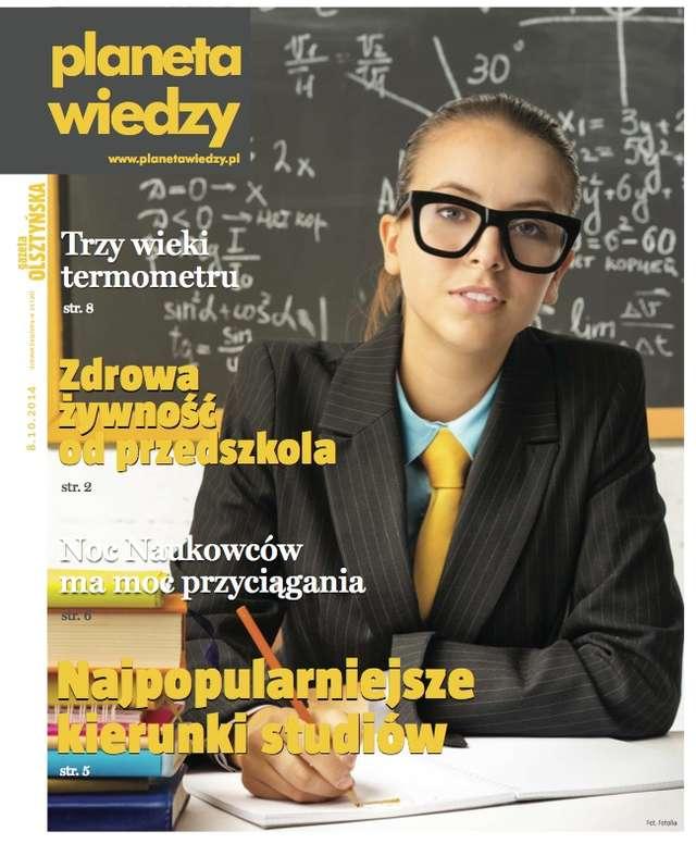 Październikowy numer miesięcznika Planeta Wiedzy - full image