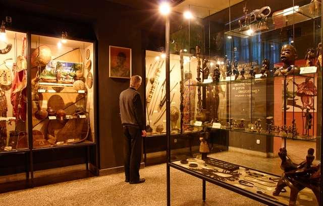 Fragment ekspozycji afrykańskiej - full image