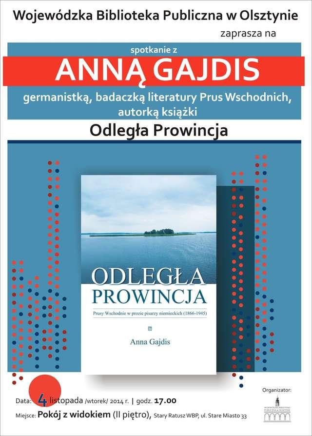 Anna Gajdis w Wojewódzkiej Bibliotece Publicznej w Olsztynie - full image