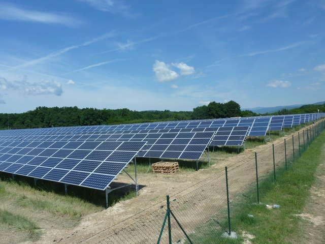Gryźlińska elektrownia słoneczna będzie miała moc 1 megawata  - full image
