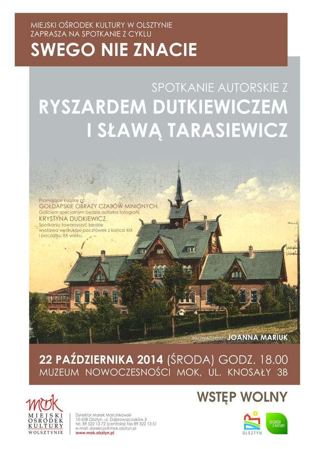 Spotkanie autorskie z Ryszardem Dutkiewiczem i Sławą Tarasiewicz   - full image