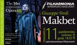 Otwarcie nowego sezonu w Metropolitan Opera na żywo w Filharmonii