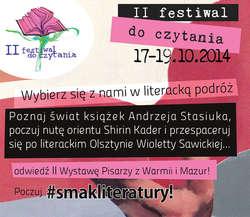 II Festiwal do czytania w Olsztynie! Tego nie można przegapić!