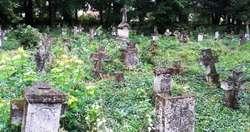 Cmentarz w Lublińcu Nowym, jesień 2014
