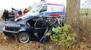 Wypadek za Narusą. 29-letni mężczyzna walczy o życie