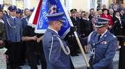 Nowomiejska policja uhonorowana sztandarem