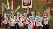 Ślubowanie pierwszaków w Szkole Podstawowej w Boleszynie