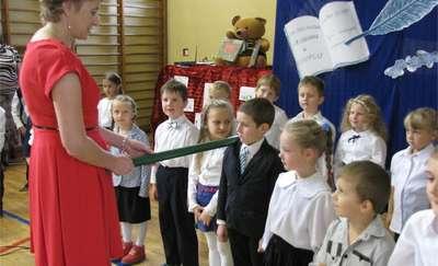 ,,Ślubuję uroczyście'' w szkole w Biskupcu Pomorskim