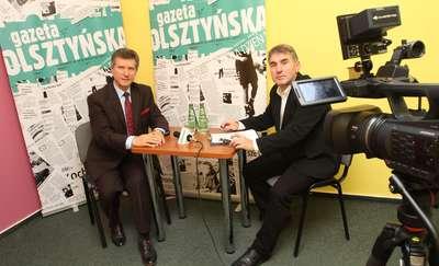 Studio wyborcze Olsztyńska TV: Rozmowa z Czesławem Jerzym Małkowskim