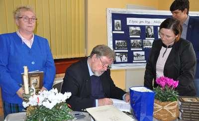 Mieczysław Bielski spotkał się z czytelnikami w Jamielniku