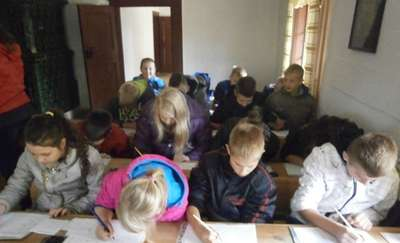 Ciekawa wycieczka uczniów do Olsztynka