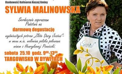 Sylwia Malinowska zaprasza na degustację potraw
