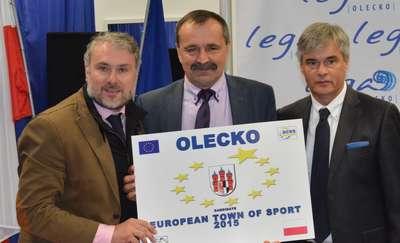 Olecko kandydatem do tytułu Europejskiego Miasta Sportu
