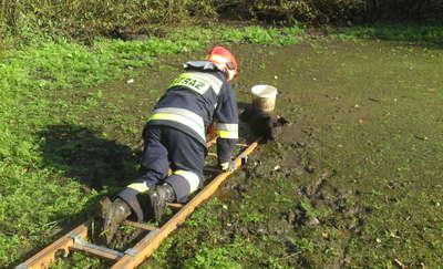 Zawdzięcza życie strażakom