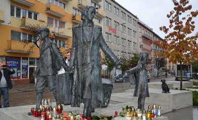 Pomnik Gdynian Wysiedlonych