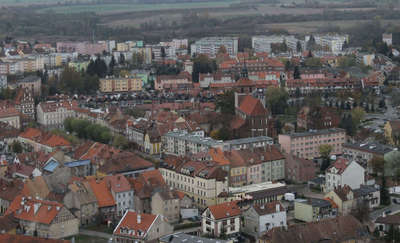 Miasto jesienią z pokładu śmigłowca (ZDJĘCIA, FILM)