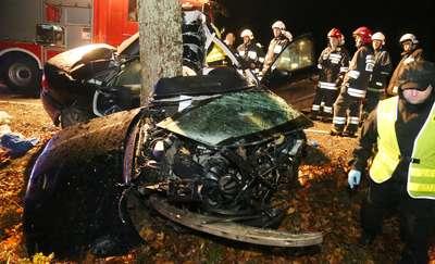 Tragiczny wypadek pod Olsztynem. Zginęły dwie osoby