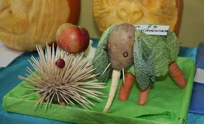 Warzywne ZOO w szkole