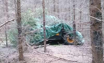 Odzyskali skradzioną koparko-ładowarkę wartą 300 tysięcy złotych
