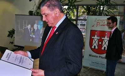 Burmistrz dumny z samorządowego Oskara