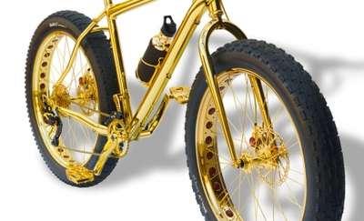 Po złoty rower musiałby pewnie włamać się do sejfu