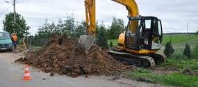 Budowa kanalizacji sanitarnej wraz z przyłączmi Kisiny - Kurki