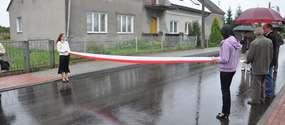 Droga gminna w Pierławce