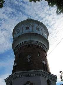 Ełk: wieża ciśnień - Muzeum Kropli Wody