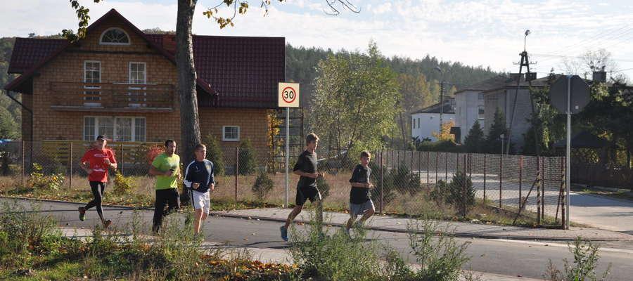 Wspólne bieganie po bratiańskich szlakach