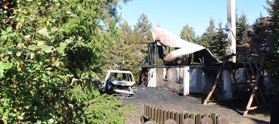 W domku letniskowym w Kierwiku nocowało sześciu mężczyzn z Siedlec. Jeden z nich zginął