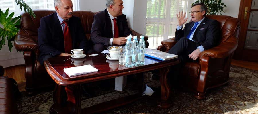 Przedstawiciele z Bieżunia z wizytą w ambasadzie