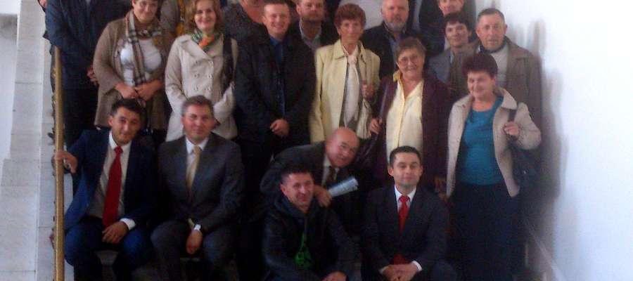Żuromińscy rolnicy na Kongresie w Warszawie