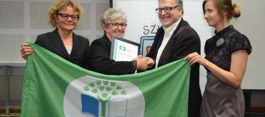 Zielona Flaga to bardzo prestiżowa nagroda dla szkoły