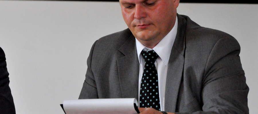 Wójt Ziółkowski podczas sierpniowej sesji wybuchł