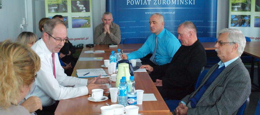 Zbigniew Białczak poinformował członków Rady Społecznej Szpitala o zamiarze utworzenia poradni onkologicznej