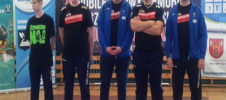 Kurzętniccy zawodnicy w Bartoszycach