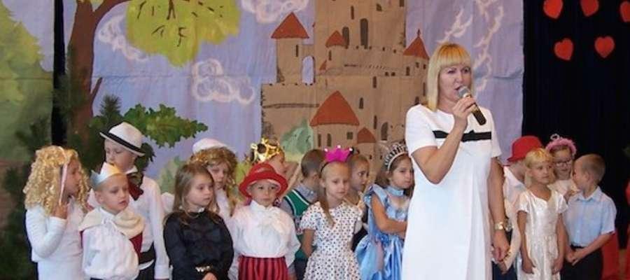 Podczas uroczystości w szkole w Jamielniku