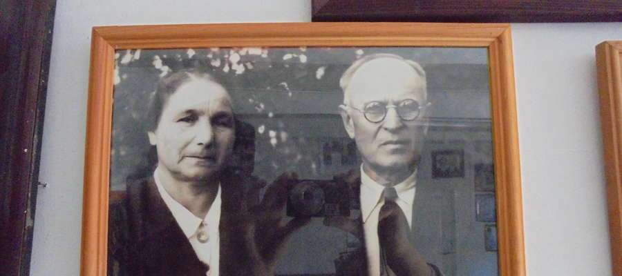 Rodzice Czesława - Hanna i Antoni Wydrzyccy