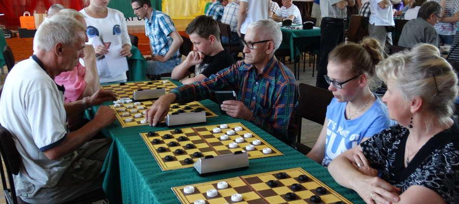 Podczas jednego z turniejów warcabowych w MCK