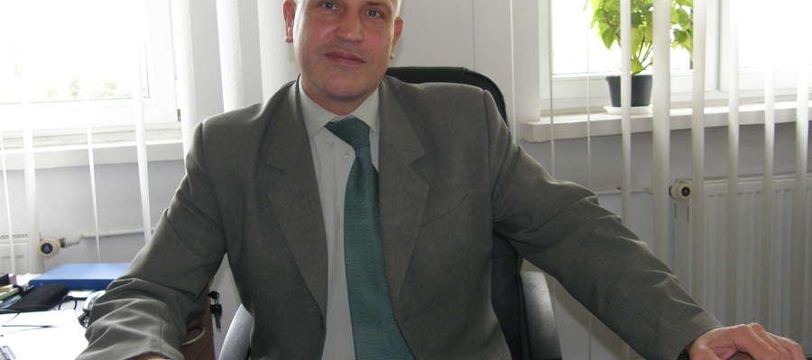 Ireneusz Falba Prezes Przedsiębiorstwa Gospodarki Komunalnej i Mieszkaniowej w Działdowie