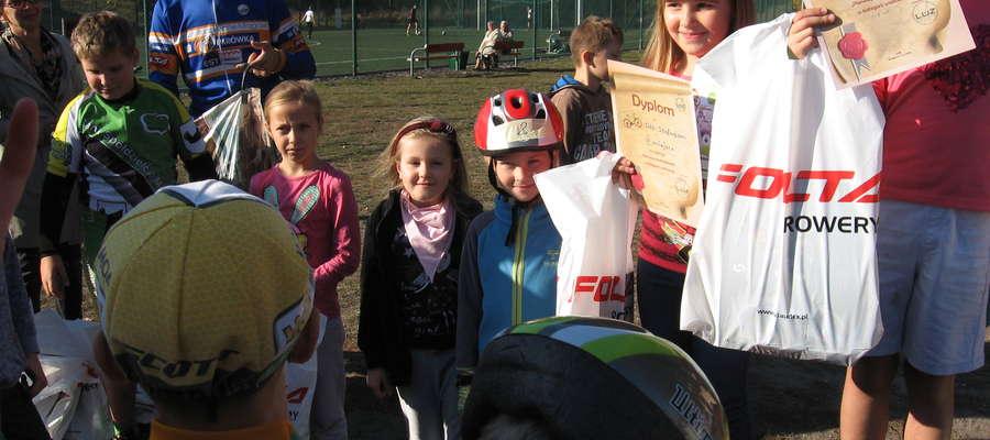 LUZ Grupa Mrągowo zorganizowała zawody kolarskie dla najmłodszych
