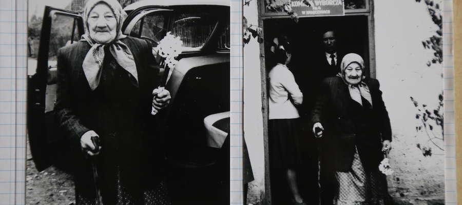 Kałęczyny, 1965 r. Warszawą na wybory