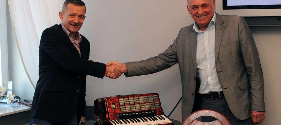 Od lewej: Andrzej Korpacki i Ryszard Kalinowski