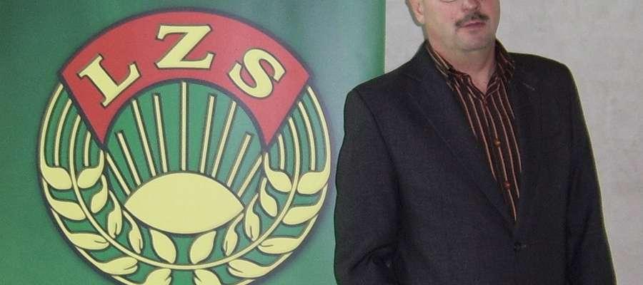 Piotr Matysiak, nowy-stary przewodniczący gminnego zrzeszenia LZS Iława