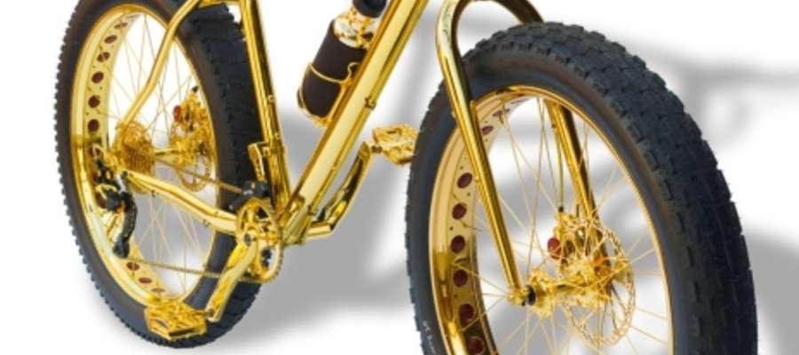 Złoty rower za milion dolarów