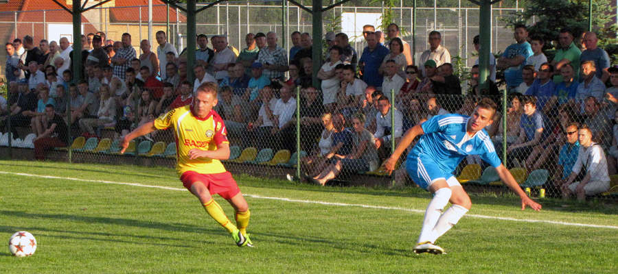 Zdjęcie jest ilustracją do artykułu, pochodzi z meczu ligowego GKS Wikielec — Drwęca NML rozegranego 8. czerwca 2014 (7:0 dla GKS-u)