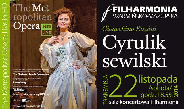 Cyrulik sewilski na żywo w olsztyńskiej filharmonii - full image