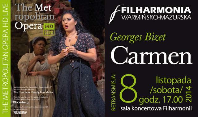 Opera w Filharmonii. Transmisja Carmen w HD - full image