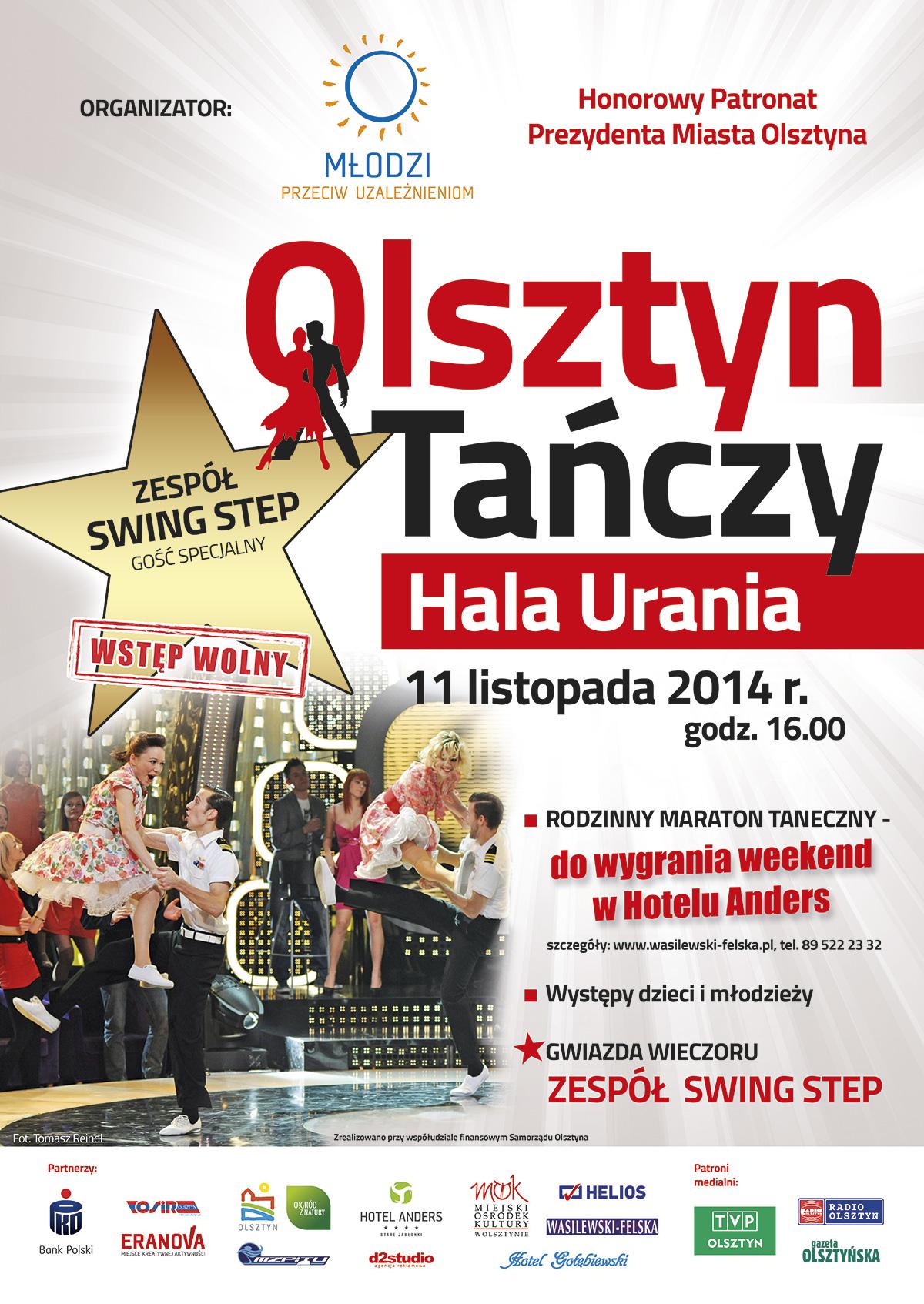 Stolica tańca jest w Olsztynie! Wyjątkowy festyn w Uranii