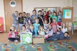 """Jednym z  partnerów akcji """"Zbieramy nakrętki"""" jest Przedszkole Miejskie nr 5"""